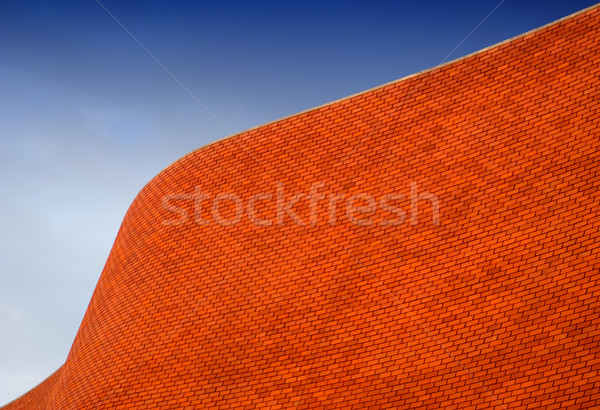Detail of a Bricked Wall Stock photo © hsfelix