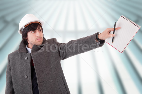 Business man dressed for winter Stock photo © hsfelix