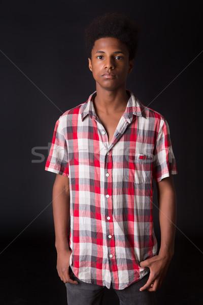 Casual Boy Stock photo © hsfelix