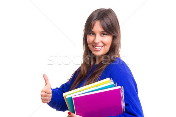 Happy student! Stock photo © hsfelix