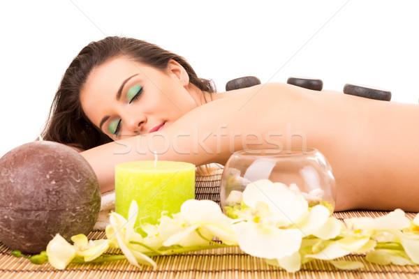 Woman in Spa Stock photo © hsfelix