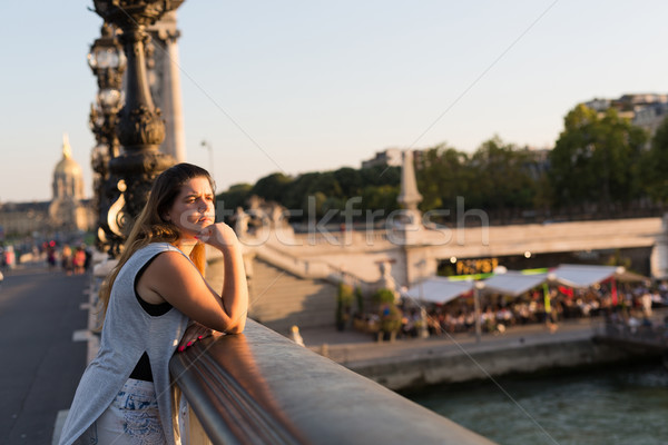 Woman on vacations Stock photo © hsfelix