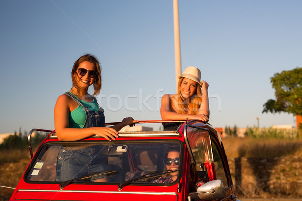 Vacations finally! Let's go! Stock photo © hsfelix