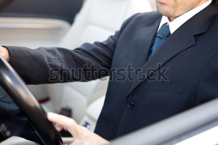 Man in car Stock photo © hsfelix