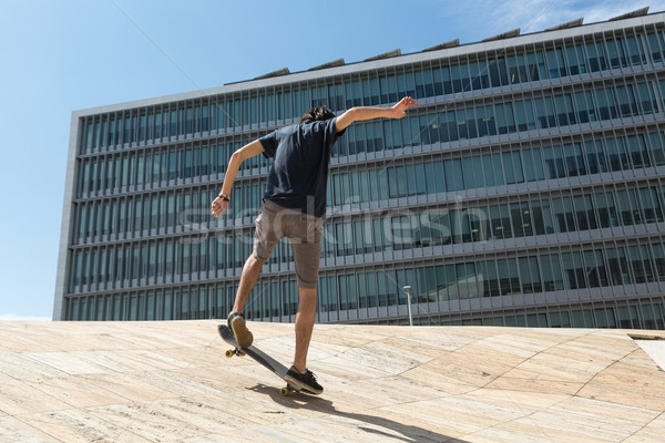 Skateboarder Stock photo © hsfelix