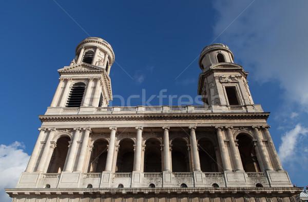 Stock photo: Saint Sulpice