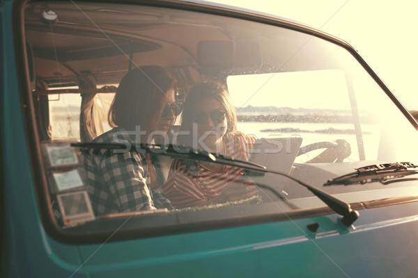Summer Road-Trip Stock photo © hsfelix