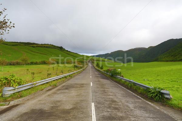Boş yollar Portekiz ada aziz Stok fotoğraf © hsfelix