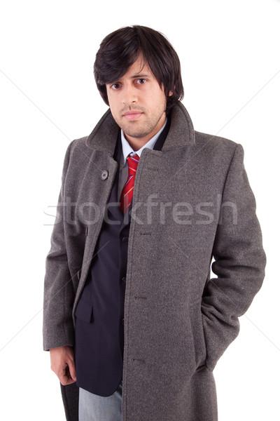 Young Engineer posing Stock photo © hsfelix