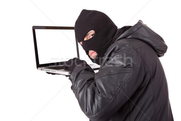 Сток-фото: хакер · компьютер · ноутбука · бизнеса · интернет · безопасности