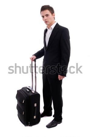 Young man going on vacations Stock photo © hsfelix