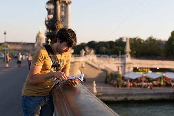 Man on vacations Stock photo © hsfelix