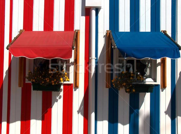 Coloured Windows Stock photo © hsfelix