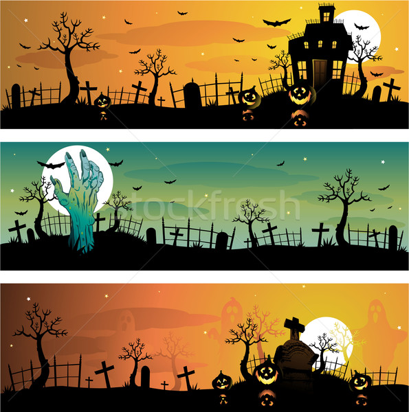 Halloween background Stock photo © hugolacasse