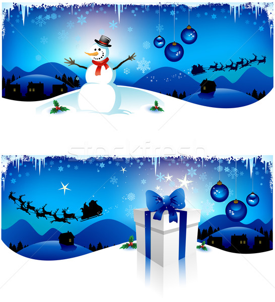 Christmas background Stock photo © hugolacasse