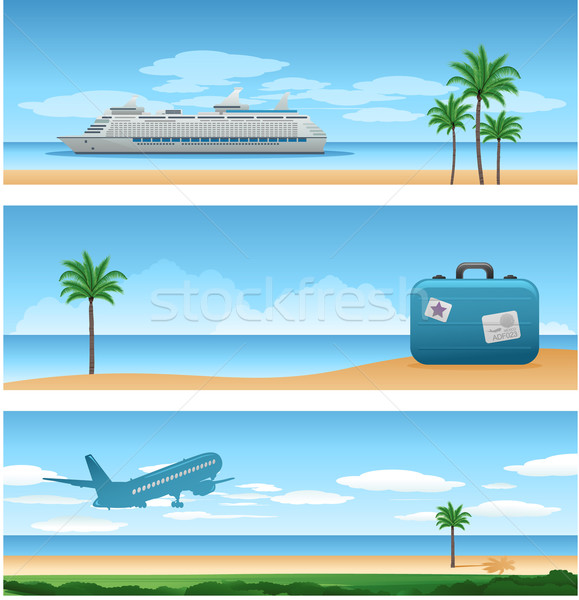 Travel around the worl background Stock photo © hugolacasse