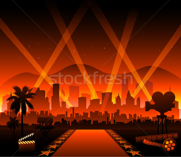 Stock photo: Hollywood cinema movie elements