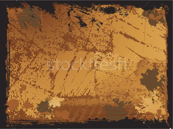 Vektor grunge folt textúra fal divat Stock fotó © hugolacasse