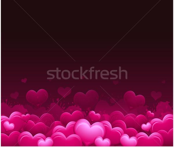 Día de san valentín decorativo diseno fiesta amor fondo Foto stock © hugolacasse