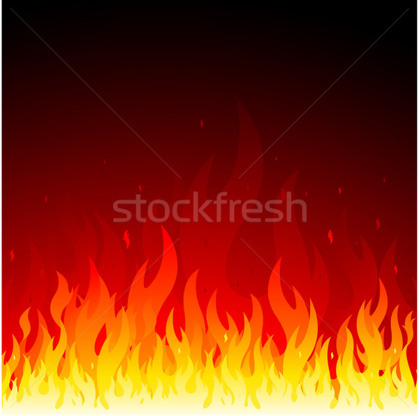 Fire flames symbol Stock photo © hugolacasse
