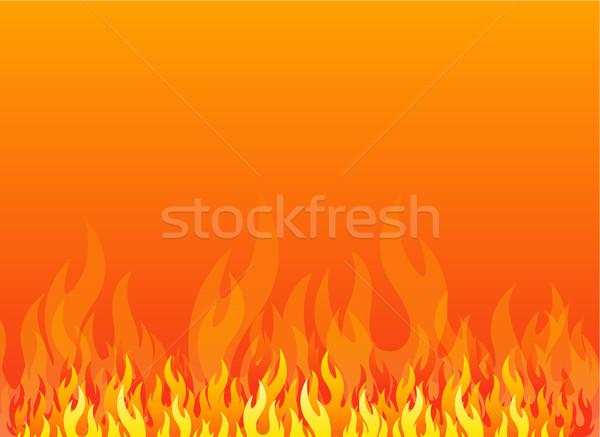 Fire background Stock photo © hugolacasse