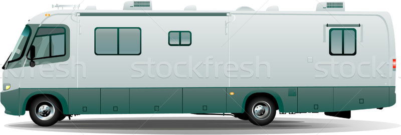 Motorhome camper vehicule Stock photo © hugolacasse