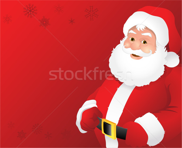 Christmas Santa claus illustration Stock photo © hugolacasse