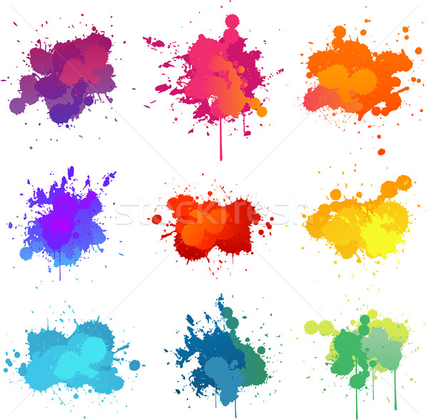 Paint splat Stock photo © hugolacasse