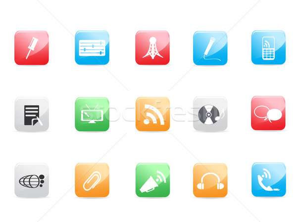 Website and Internet icons  Stock photo © huhulin
