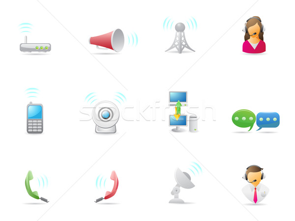 Internet & Communications icon Stock photo © huhulin