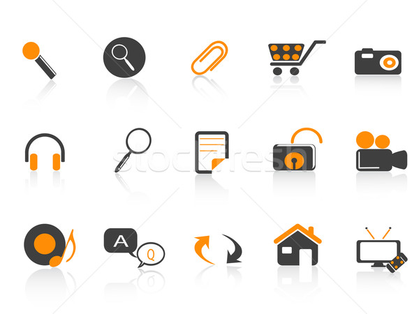 icon set for design  Stock photo © huhulin