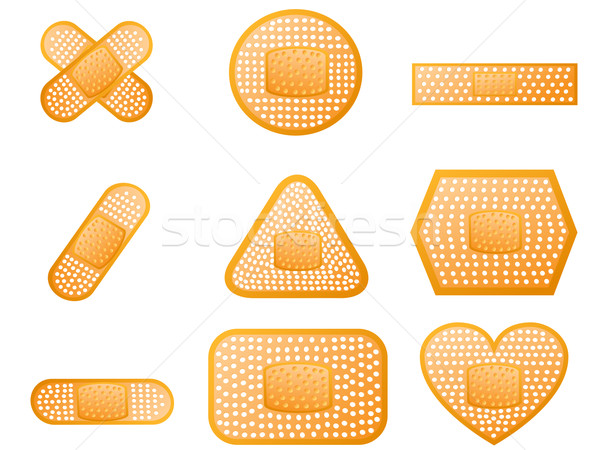 Medical first aid plaster   Stock photo © huhulin