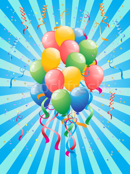 Party Balloons Stock photo © huhulin