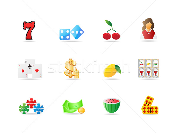 gambling icon  Stock photo © huhulin