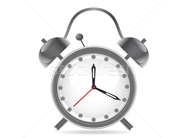 isolated alarm clock on white background Stock photo © huhulin