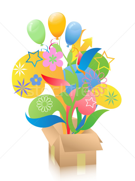 gift box Stock photo © huhulin