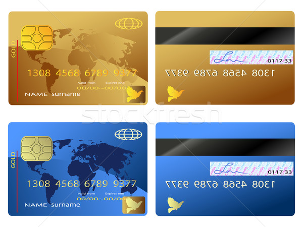 Credit card Stock photo © huhulin