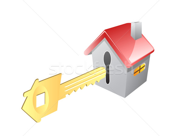 key for house Stock photo © huhulin