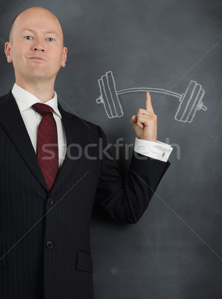 business power Stock photo © hyrons