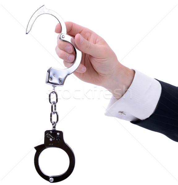 handcuffs Stock photo © hyrons