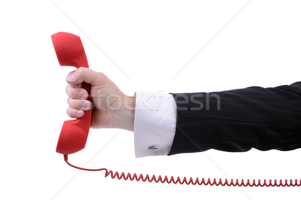 urgent call Stock photo © hyrons