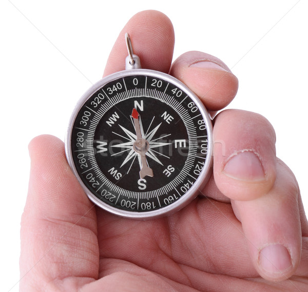 Stock photo: Compass direction