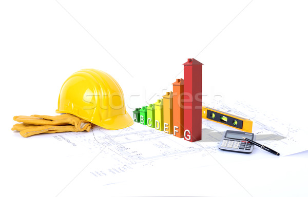 construction environmentally friendly Stock photo © hyrons