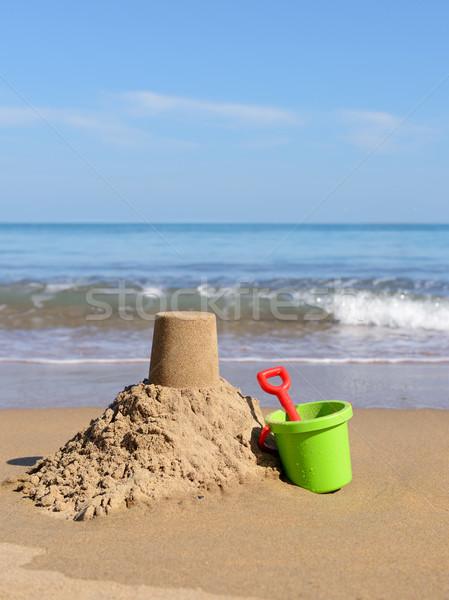 Beach holiday Stock photo © hyrons