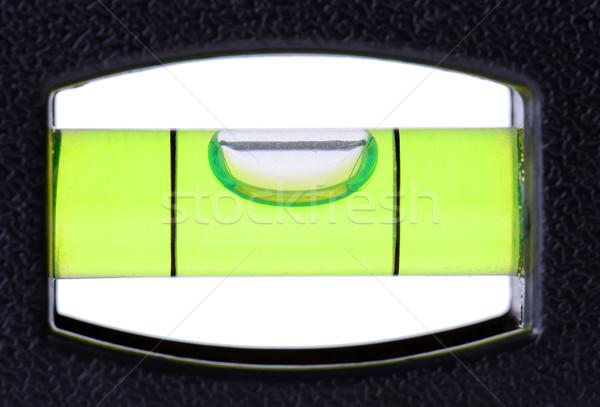 Seviye makro yeşil kabarcık dizayn beyaz Stok fotoğraf © hyrons
