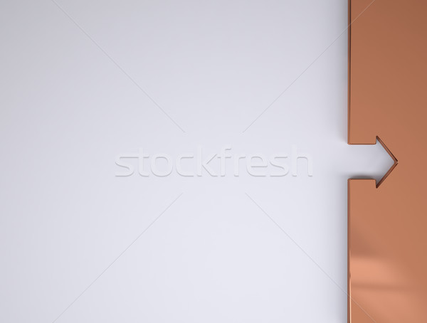 coppper border Stock photo © hyrons