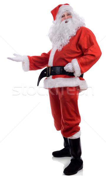 Santa presenting Stock photo © hyrons