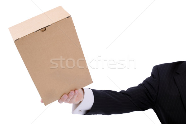 Stock photo: delivery