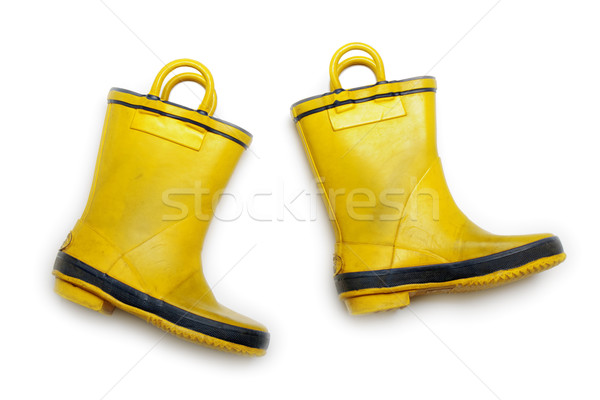 Rubber boot Stock photo © ia_64