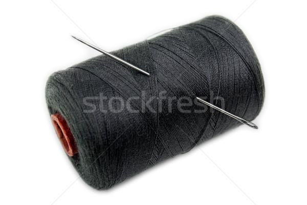Carretel agulha forte de costura algodão fio Foto stock © ia_64